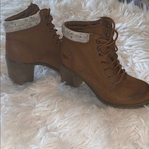 Rocket Dog lace up ankle booties